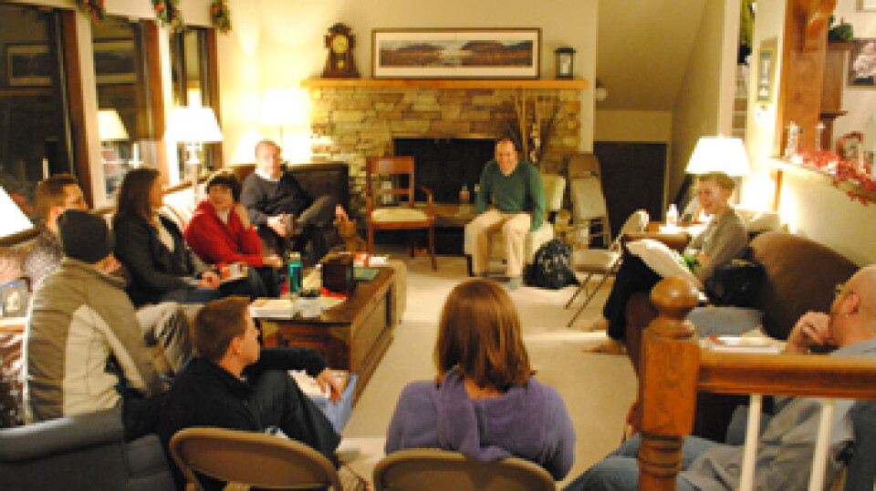Local house church meetings